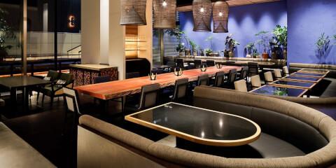 GINGER GRASS modern thai vietnamese 新宿 ディナー おすすめ 南新宿 エスニック料理 個室 おしゃれ デート 女子会