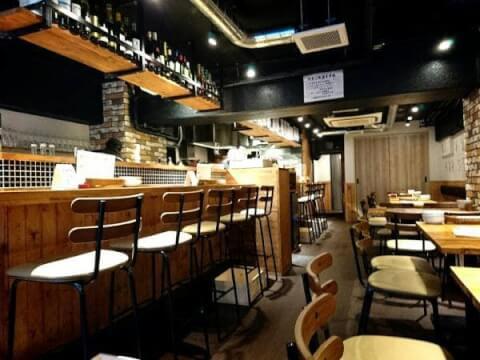 中野のおしゃれで安いおすすめ居酒屋、女子会に人気のイタめし酒場viva