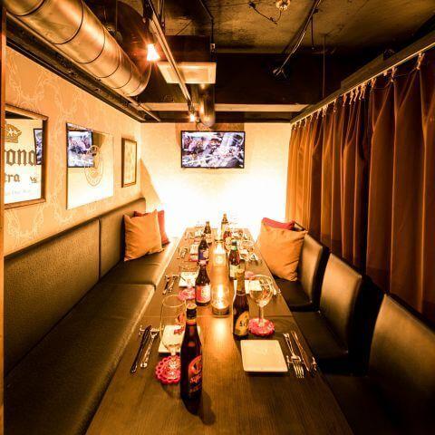 シュラスコ&チーズ ウォルトンズ 新宿東口店 個室 居酒屋