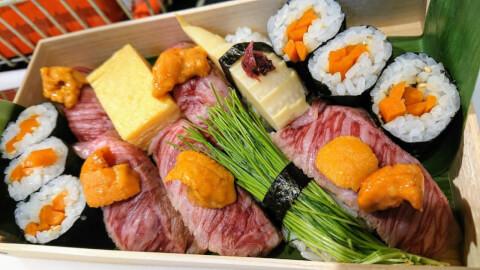和神のお寿司