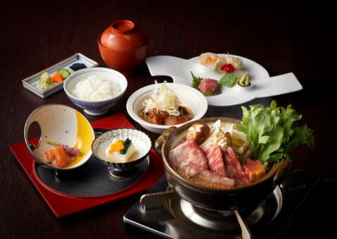 千羽鶴の料理