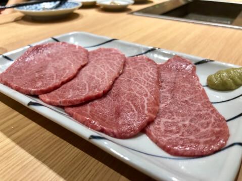 渋谷 焼肉 黒田 赤身 肉 上赤身