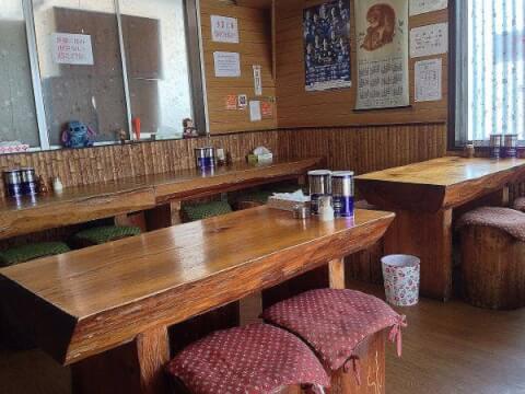 吉野家食堂の内観画像