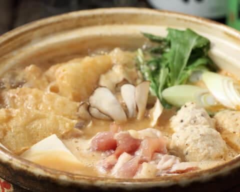山芋の多い料理店料理