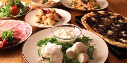 オービカ-モッツァレラバー-料理