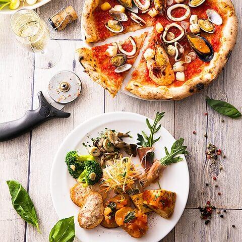 Trattoria&Pizzeria LOGIC 横浜 ランチ 洋食