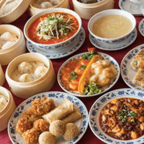 重慶茶樓 横浜中華街 おすすめ 食べ放題