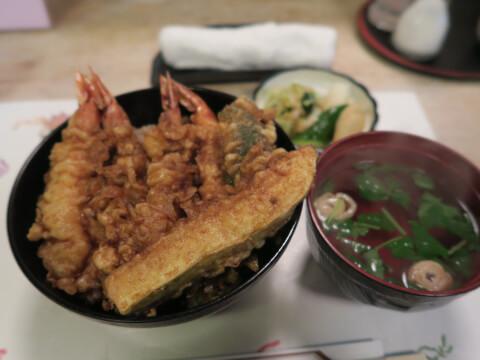 天米の料理