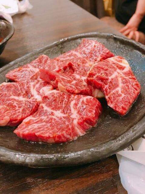 焼肉の吉田のハラミ