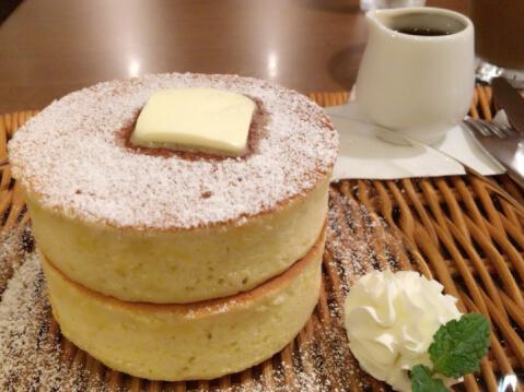 神宮苑 ホットケーキ