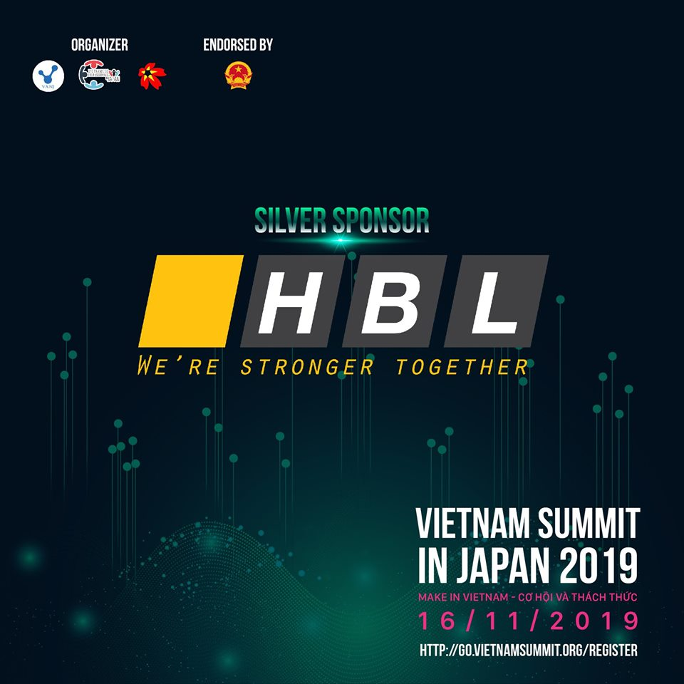 VIETNAM SUMMIT 2019 シルバースポンサー