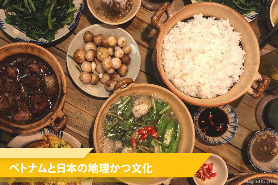 理由その5:ベトナムと日本の地理的かつ文化的な差が縮まる