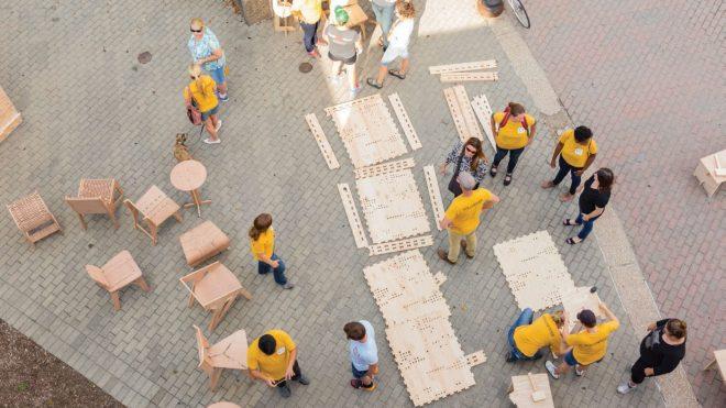 オンデマンドで店舗や家具を出力。コミュニティを盛り上げる「Wikiblock」のオープンソース・ツールキット