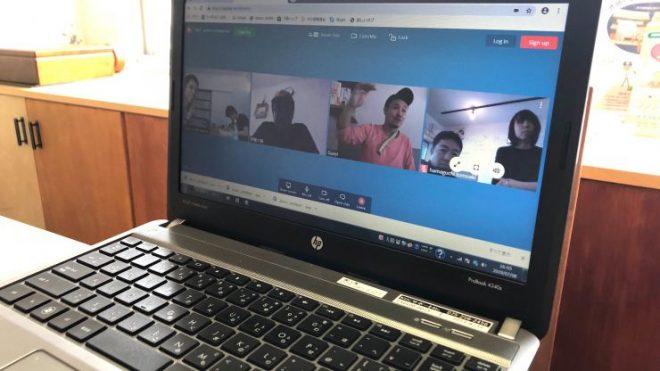 <京都>八清・OND・EWがオンラインミーティング~3社共同リノベーション事業の働き方とは~