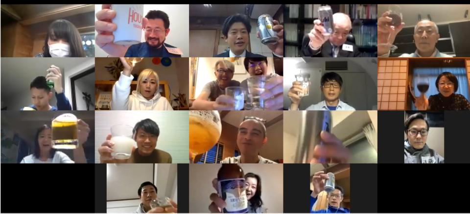 「Online鎌倉酒場」はじまりました。もうオープンしちゃう! Zoomで呑もうぜ!宇宙一の場づくりへ。