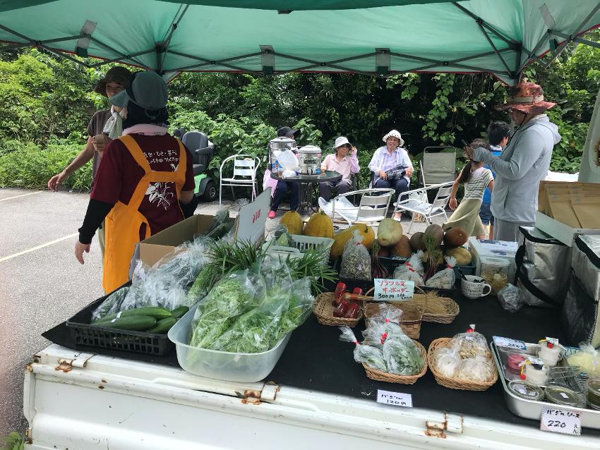 粟国島『しまカフェ』プロジェクトのルーツとなった「青空マーケット」をレポート