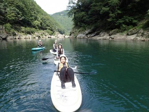 静岡県 浜松市 注目のリバーSUP体験‼ ツアー中のお写真プレゼント(午前発・午後発)