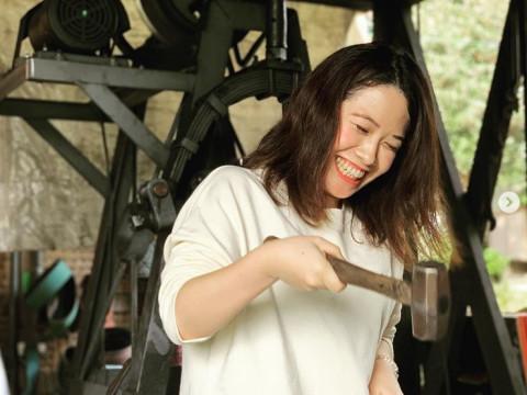 岐阜県 羽島市 【おひとり様限定】 刀匠から学ぶ、伝統の鍛造の技! 鍛冶場で侍ナイフ作り体験ツアー(昼食付き)