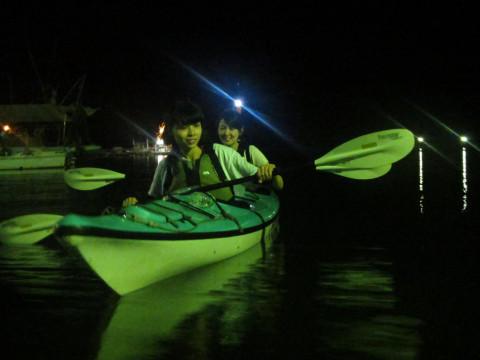 広島県 福山市 鞆の浦でナイトカヌー! 夜光虫や海ホタルに会いにいこう!軽食付き(6月~10月開催)
