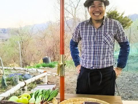 北海道 日高町 【お一人様限定プラン・10時出発限定】 日高の山・海・里の食材を使って本格アウトドアクッキング体験 - 複写