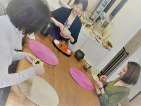 東京都 目黒区 【オンライン体験】 おもてなし茶の湯・テーブル茶道体験