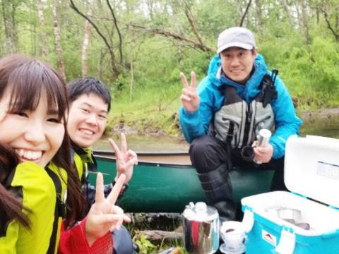北海道 弟子屈町【2人様限定】  釧路川源流 約7km プライベートツアー☆ ティータイム付き