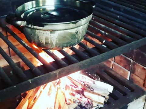 北海道 日高町 【1組 2~6人様・10時出発限定】 日高の山・海・里の食材を使って本格アウトドアクッキング体験