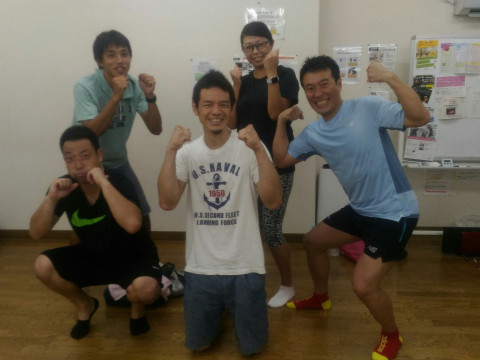 神奈川県 横浜市 体脂肪を打つ!運動不得意でも大丈夫!ボクトレ教室