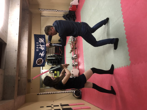 東京都 中野区 武術歴30年以上のベテラン指導員がリアルな侍&忍者の技を教える体験ツアー