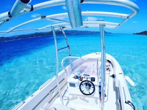 鹿児島県 奄美大島 奄美北部で唯一船でしか行けない!秘境のビーチ・コウトリビーチ1DAYプラン ※お弁当1ドリンク付き