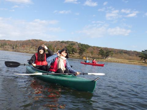 青森県 八戸市【カヤック体験】☆ 自艇でご参加の方限定 ☆ カヤック半日コース !