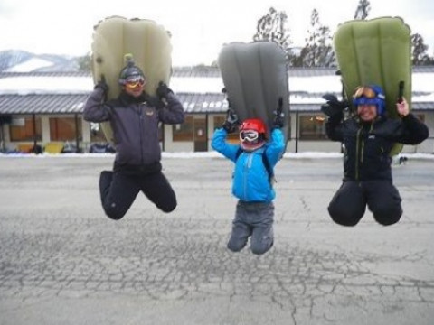 岐阜県 高山市 エアーボードの基本習得 & ステップアップ!!1日体験コース☆