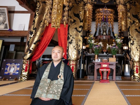 福島県 二本松市 約560年続く 永松山 龍泉寺 43代目ご住職から学ぶ「夜の座禅体験」