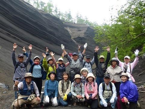 静岡県 小山町 日本版グランドキャニオンと小富士火山 Dコース