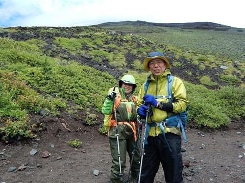 静岡県 富士山 宝永火口の火口巡りCコース