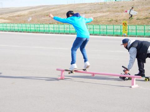 福島県 いわき市 スケートボード体験 ☆ ボードレンタル無料♪初心者~経験者の方大歓迎 ♪