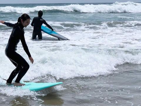 福島県 いわき市 【冬期 1人様】サーフィン体験 冬用ウエットスーツご持参の方限定プラン