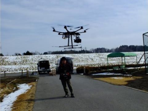 栃木県 那須烏山市 DJI ファントム4を使用 ☆ ドローン操縦体験60分コース