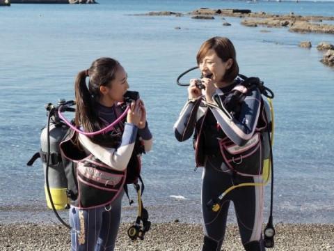 神奈川県 葉山町 最短2日間 ☆ PADIゴールド中級アドバンス講習2日間5ダイブ