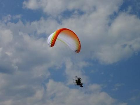栃木県 那須烏山市 お気軽に パラグライダー体験 90分 ☆ 体重90kg以下・タンデムフライト