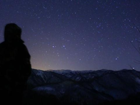 群馬県 みなかみ町 スノーシュー半日体験 ☆ 夜の雪原は静かで神秘的!ナイトスノーシュー☆