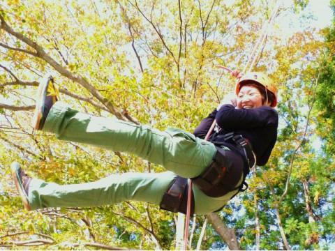 群馬県 みなかみ町 国内唯一! 樹上満喫 ☆ 木のぼりツアー! 水上駅から車で6分! 東京から日帰り圏内☆