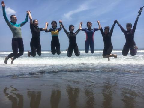 千葉県 一宮町 プロサーファーが教える初心者向けサーフィンスクール ☆ お1人様も大歓迎!