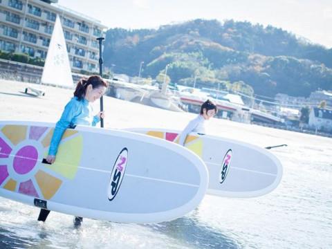 神奈川県 逗子市 SUP(サップ・スタンドアップパドル)半日体験ツアー☆都内から60分・1人様から参加OK♪