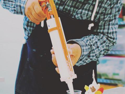 東京都 豊島区 上池袋 食品サンプル作り体験 ☆ 炒飯作り ♪ お子様に大人気