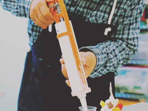東京都 豊島区 上池袋 食品サンプル作り体験 ☆ ラーメン作り ♪ お子様に大人気