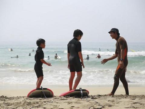 静岡県 下田市 中級・経験者の方限定・サーフィン体験 ☆ もっとうまくなりたい! パタゴニアアンバサダーが運営するスクールで学ぶ