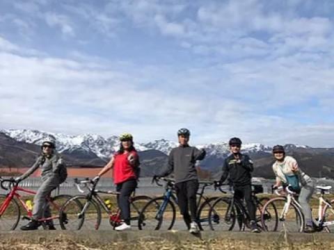 長野県 小谷村  絶景ロードバイクツアー ☆ 初級~上級まで選べる3コース ♪ 【半日コース】