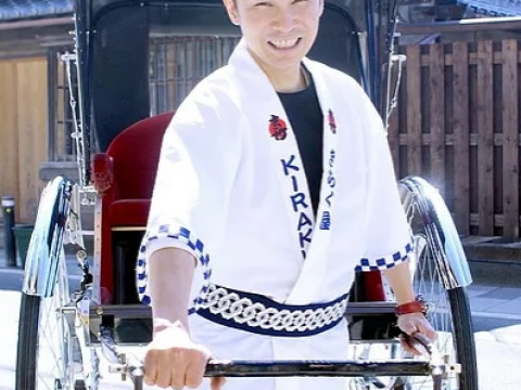 長野県 小諸市 懐古園と小諸の城下町を人力車で周ろう ☆ 松コース(90分)