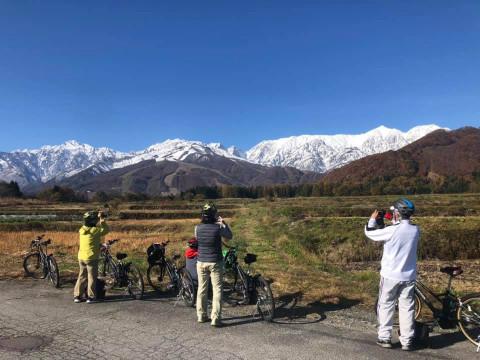 長野県 小谷村  絶景ロードバイクツアー ☆ 初級~上級まで選べる3コース ♪ 【1日コース】